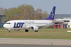 Boeing 737-45D - SP-LLF - HAJ - 02.04.2019 (Matthias Schichta) Tags: haj hannoverlangenhagen eddv flugzeugbilder planespotting spllf lot boeing b737400