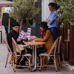 (-will wilson-) Tags: placedauphine paris street 2017 man woman waiter ledauphin café paris1er france public