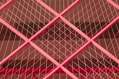 Pink (josullivan.59) Tags: 2019 artistic asia china dof hongkong january kowloon newyear tamron150600 abstract architecture city day detail downtown geometric minimalism outdoor outside pink red telephoto texture wallpaper warm 3exp