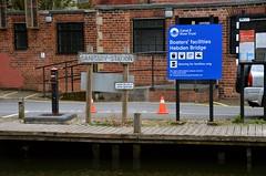 Sanitary Station (Sam Tait) Tags: hebden bridge yorkshire town rochdale canal walk 2019 spring british waterways sanitation boater disposal point station water