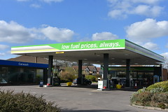 Apple Green, Hedon East Yorkshire. (EYBusman) Tags: apple green petrol gas gasoline filling service station garage hedon east yorkshire coop bp safeway texaco eybusman
