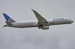 N38950 / Boeing 787-9 GE / 36401/181 / United Airlines (A.J. Carroll (Thanks for 1 million views!)) Tags: n38950 boeing 7879 ge 787 789 36401181 genx unitedairlines staralliance amer a47fd9 london heathrow lhr egll 27r