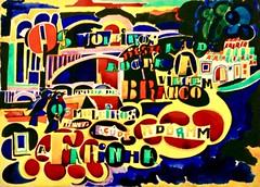 Song of the dam   Poem in color (1915) - Amadeo de Souza-Cardoso (1887-1918) (pedrosimoes7) Tags: amadeodesouzacardoso arttate caloustegulbenkianfoundation moderncollection lisbon portugal themastersofart