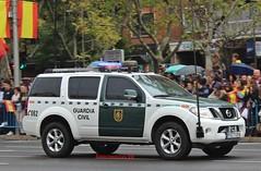 Guardia Civil (emergenciases) Tags: emergencias españa 112 comunidaddemadrid desfile 12octubre vehículo guardiacivil nissan pathfinder todoterreno