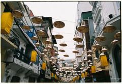Street of flying hats (Dino Ngo) Tags: street flying hats olympus om1 fujicolor 100 fujifilm hanoi vietnam hanoianalog analog analogvibes film filmography filmisnotdead ishootfilm istillshootfilm dino ngo dinongo