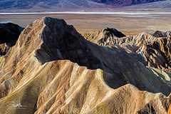 Manly Beacon Ridge Line (TierraCosmos) Tags: manlybeacon mountain ridge zabriskiepoint desert deathvalley deathvalleynationalpark rock california