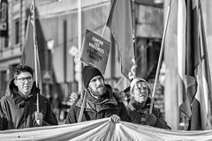 Manifestations contre Bolsonaro, Netanyahu et le WEF (DeGust) Tags: wef2019 portrait collectifurgencepalestinevaud vaud homme worldeconomicforum streetphotography politique militantisme manifestation solidaritésvaud noiretblanc placedeleurope jeunessesocialiste manifestants romandie ecologie suisse solidarités lausanne wef 11000000 activism bw blackandwhite cupvaud contestationsociale davos demonstrators europa europe flon militancy monochrome nb photoderue profile rues socialprotest streets switzerland politics