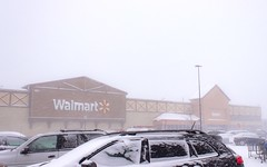 Cold day at Walmart (Scottb211) Tags: gaylord gaylordmi northernmichigan upnorth winter polarvortex