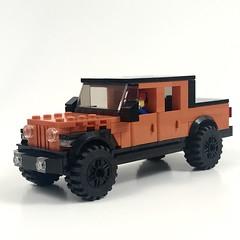 Jeep Gladiator (wooootles) Tags: lego moc legomoc pickup pickuptruck jeep gladiator jeepgladiator rubicon offroad wrangler jeeplife