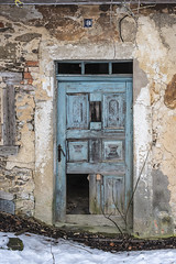 #8 (the-father) Tags: door lostplace house blue art broken upperpalatinate oberpfalz bavaria bayern germany farmhouse farm