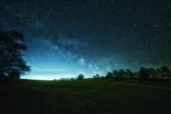 Milchstraße über der Eifel (clemensgilles) Tags: nachtfotografie nightphotography nightphoto nightspots longexposure winter astrophotography astrophotographers astrofotographie voielactée milkyway milchstrase sternenhimmel eifel germany beautiful