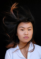 DENS2950 (YouOnFoto) Tags: girl meisje dancer china chinees vrouw woman flow hair wind mood moody intens intense colour color kleur portret portrait gezicht face haar