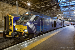 68006 'DARING' Edinburgh Waverley (deltic17) Tags: scotrail loco locomotive diesel new train stock coaches passenger edinburgh waverley 2l69 rail railway 158 class68 class158 canon canon5dmk4