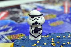 Cub Scouts Blue & Gold Ceremony Star Wars Cake 8 (rikkitikitavi) Tags: custom cake dessert vanilla chocolate buttercream fondant handsculpted handmade starwars r2d2 yoda stormtrooper chewbaca bb8 cubscout blueandgoldceremony bluegoldbanquet