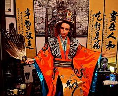 Lord Josh Allen - Throne Room (Josh100Lubu) Tags: lordjoshallen lordjosh lamat771 lamat zhugeliang zhuge zhugekongming kongming kongmingfan feathers feather fan threekingdoms handynasty dynastywarriors daoism chinese china magician magick spiritual spirituality taoism sorcery sorcerer magic daoist throne royalty royal