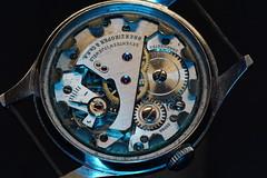 Well Traveled (timvandenhoek1) Tags: macromondays timepieces macro wristwatch belair 17jewels seventeenjewels brenzikofercosa swiss timvandenhoek midwest missouri smcpentaxm100mmf4macro sonyilce6000 fotasypknexadapter manualfocuslens legacylens movement swissmade watch clock timepiece