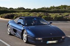 FERRARI F355 Spider - 1995 (SASSAchris) Tags: ferrari f355 spider scuderia cabriolet cavallino rampante 10000 tours castellet circuit ricard voiture italienne pininfarina enzo maranello v8