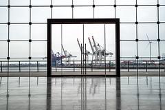 Windows (hph46) Tags: fenster groseelbstrase hamburg germany elbe hafen altona harbour sony alpha7r canonef1635mm14lisusm