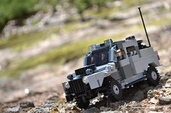 """Margay"" on the Prawl (TierMR) Tags: lego military scout vehicle war"