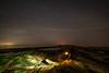 Heading Into The Darkness (Rob Pitt) Tags: hilbre island night stars merseyside wirral west kirby lightpainting samyang 14mm f28