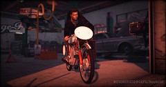 fl_181224 (Rocket.B) Tags: garage route66 honda vintage bike motorcycle manxtt motorheadz highlevel secondlife virtual cafe caferacer racer moto retro single