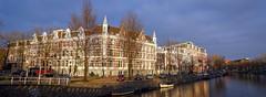 Amsterdam Alexanderplein (Hans Veuger) Tags: nederland thenetherlands amsterdam amsterdamcentrum alexanderplein alexanderkade panorama stitch b700 coolpix nikon nederlandvandaag singelgracht alexanderstraat sarphatistraat