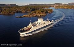 Bastø II (Bergenships) Tags: bastøii bastø bastoii basto bastøfosen ferge ferje ferry carferry e39 halhjem os bergen stavanger torghattennord samferdsel