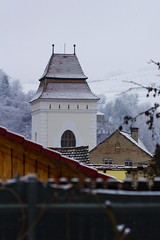 Steingasser Turm (Raoul Pop) Tags: architecture garden home medieval snow steingasser tower winter