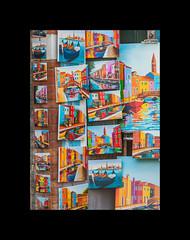 Murano landscape painting (filipmije) Tags: color colour landscape painting still burano tourism souvenir
