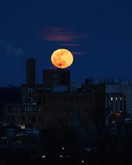Super Snow Moon over Kalamazoo (bill.d) Tags: kalamazoo kalamazoocounty michigan us unitedstates moon night supermoon supersnowmoon winter