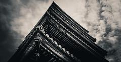 For Whom The Bell Tolls (Mike Kniec) Tags: japan temple kyoto sony ninnajitemplegojunotoutower ninnajitemple templeinjapan japanesetemples buddhisttemple buddhist buddhism templesinjapan
