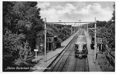 Ansichtkaart: Oosterbeek Hoog (Maurits van den Toorn) Tags: trein train zug motorwagen dmu diesel ns oosterbeek station gare bahnhof ansicht postcard
