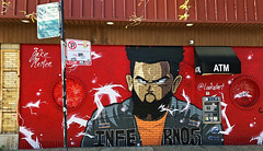Infernos by Jake Merten (wiredforlego) Tags: graffiti mural streetart urbanart aerosolart publicart chicago illinois ord lookatart jakemerten red