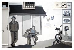 Urban poetry (leo.roos) Tags: straatkunst streetart muralism wallart mural muurschildering caféhetkantoor gierstraat september2018 ericjcoolen onderkantooruren biesvanede haarlem dm 2019 a7rii meyerprimoplan119f75cm 1940 exakta meyerprimoplan7519 darosa leoroos