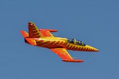 Fire Cat L39C (SBGrad) Tags: 200500mmf56e 2019 alr aerovodochody albatros d750 elcentro firecat l39 l39c nafelcentro nx39lw nikkor nikon richperkins airshow