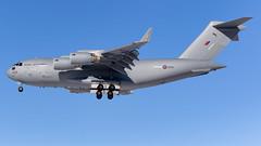 MSP ZZ178 (Moments In Flight) Tags: minneapolisstpaulinternationalairport msp kmsp aviation avgeek airplane cargoplane raf royalairforce c17 c17a globemasteriii zz178