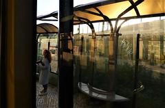 urban sunset (*F~) Tags: lisboa portugal travelling bus 758 benfica light shadows humans people reflection afternoon time thehours urban city movement motion lumière agnèsvarda lesglaneursetlaglaneuse