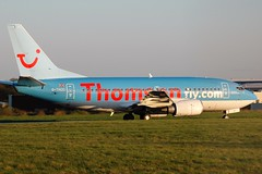 Thomsonfly 737 G-THOC (Craig S Martin) Tags: thomsonfly boeing 737 gthoc aviation aircraft airliner jet airplane 737500