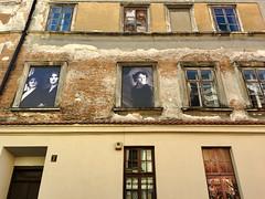 Mandragora (deziluzija) Tags: mandragora oldphotographs posters wall windows