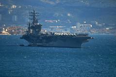 US Navy (mduthet) Tags: porteavions usnavy portdemarseille bateaux militaires