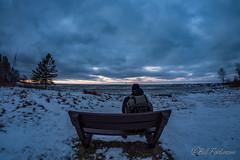 DSC_7879.jpg (GrandView Virtual, LLC - Bill Pohlmann) Tags: up parkbench upperpeninsula blackriverharbor winter bessemermi lakesuperior ice sunset greatlakes breakwater michigan