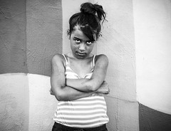 Kenya (ChrisGoldNY) Tags: friendlychallenges challengewinners bw blackandwhite miami wynwood girl girls kids children funny tough portraits people streetportrait florida southflorida sonyimages sonya7rii