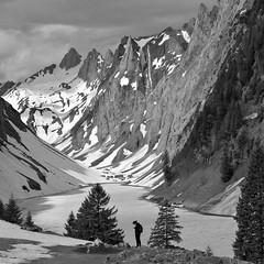 Visitation (Alpine Light & Structure) Tags: switzerland schweiz suisse alps alpen alpes alpstein fälensee alpinelightstructure