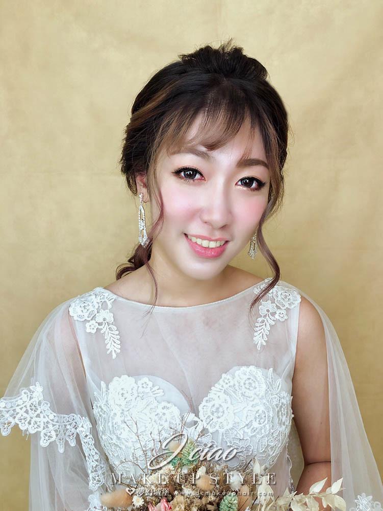【新秘婕喬】新娘造型創作 / 編織低馬尾