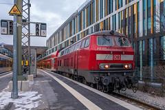 218 403-4 DB Regio München Hbf 31.01.19 (Paul David Smith (Widnes Road)) Tags: 2184034 db regio münchen hbf 310119 218 br218