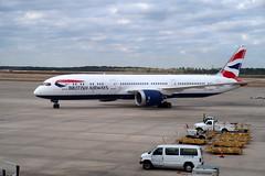 2019-012106 (bubbahop) Tags: 2019 houston texas usa intercontinental airport iah britishairways boeing787 plane