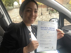 Massive congratulations  to Ándre Galdos passing her driving test on her first attempt! Well done Andreina.   www.leosdrivingschool.com  WARNING: Getting your license is a good achievement however being a SAFE driver for life is the biggest achievement!