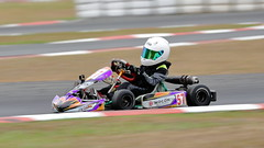 Hugging the Kerb (Kilfenora Kev) Tags: gokart kart ipswich queensland canon quick motorsport raceway track panning fast