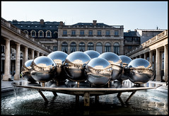 LAST LIGHT ON PALAIS ROYAL - PARIS (J.P.B) Tags: palaisroyal paris musées musees museum architecture art building city culture fountain gray landmark monument old outdoor outdoors reflection sculpture sight tourism urban water パリ 巴黎