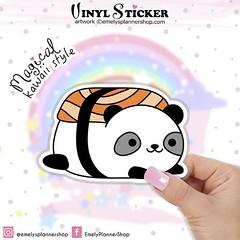 Panda Sticker DC028 by EmelysPlannerShop (emelysplannershop.com) Tags: planner stickers icon accessories functional daily agenda organizer live emelysplannershop